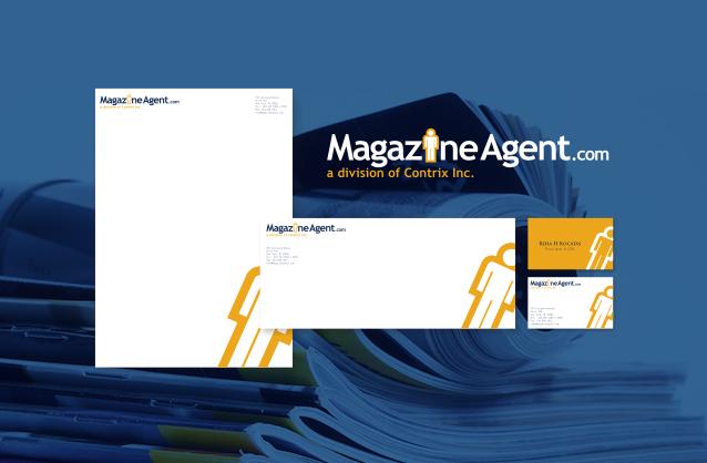 logo design sample magazine logo magazine subscription